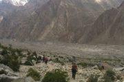 Trekking towards K2 bas camp